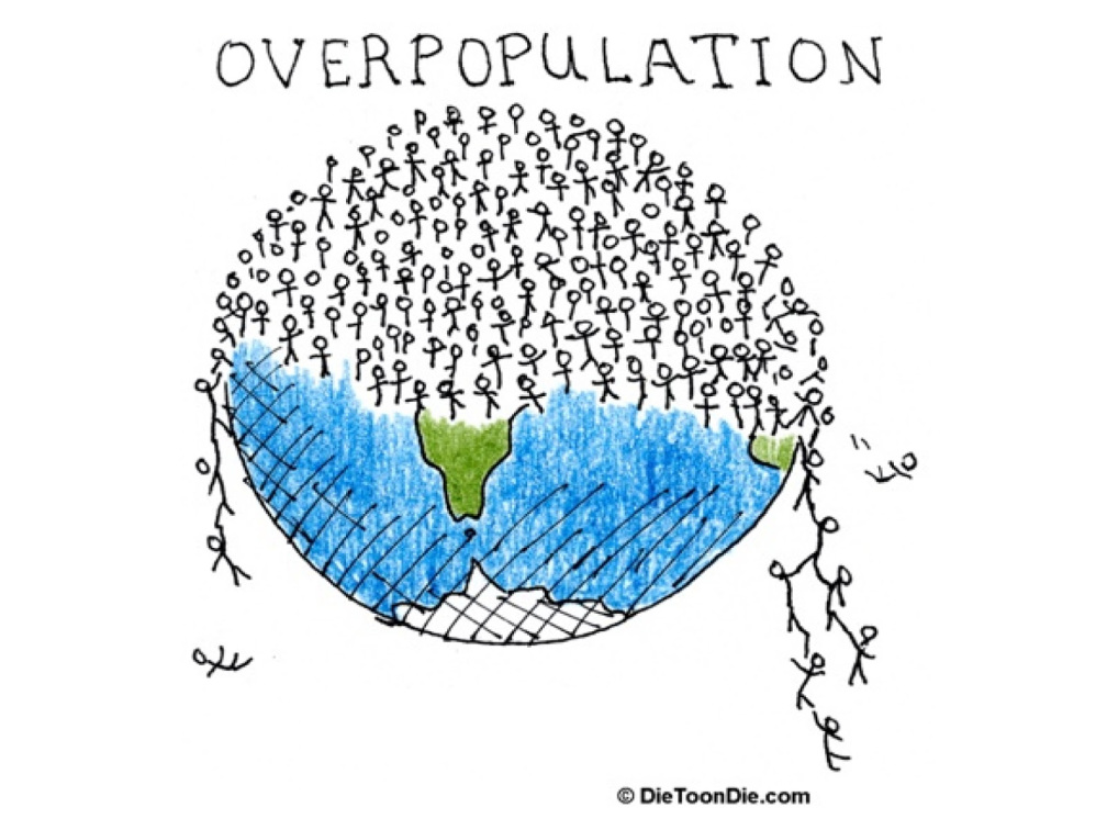 the concerns over the depletion of natural resources as the world population is ballooning Overpopulation is excessive human population in an area to the point of overcrowding, depletion of natural resources and environmental deterioration (dictionarycom, 2009) right now there is estimated to be 6765 billion people in the world.